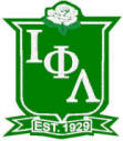 Iota Phi Lambda shield outline