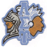 Lambda Sigma Upsilon Knight/Taino evolution, originally designed by University Apparel