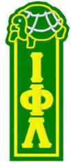 Iota Phi Lambda Turtle-topped bookmark, $7.00