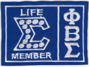 Sigma Life Member, originally designed by University Apparel