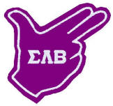 Sigma Lambda Beta hand-sign