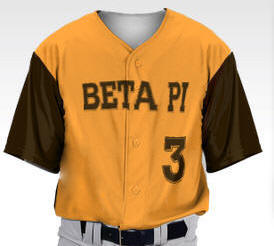 60da826b516 Custom Baseball Jersey  Color Block Pro-Style full button. Premium  sublimation. Customizable base and two accent colors. Name (up to 16  characters or ...