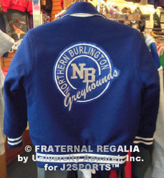 J2sports Varsity Jackets